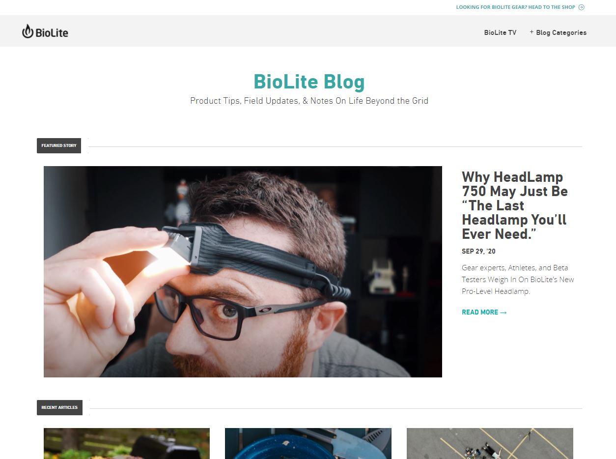 biolite blog snippet